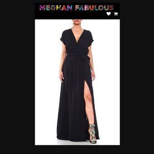 📸🆕 Meghan Fabulous ❃ Jasmine Maxi Dress ❃ Navy